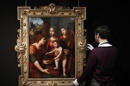 Tableau d'un élève de Léonard de Vinci adjugé 2,3 millions d'euros