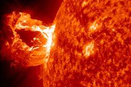 Les compagnies aériennes prévenues des risques d'éruptions solaires