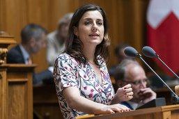Présidence du PS: Flavia Wasserfallen n'est «pas à disposition»