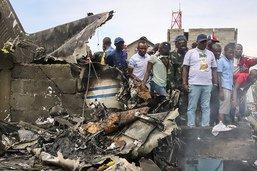 Un petit avion s'écrase sur un quartier de Goma: au moins 23 morts