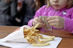 Une astronaute de fast-food