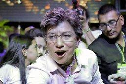 Femme d'exception à la tête de Bogotá