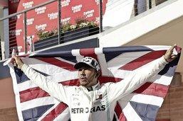Lewis Hamilton au sommet de son art