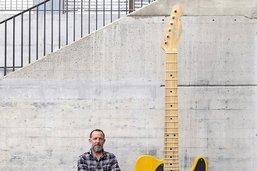 La guitare devenue œuvre d'art