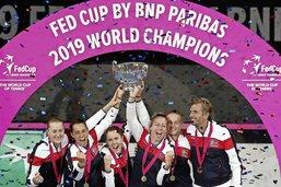 Fed Cup: les Françaises sacrées en Australie