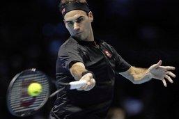 Roger Federer s'incline d'entrée