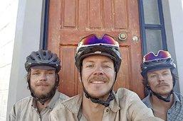 Le périple andin de trois frères à vélo