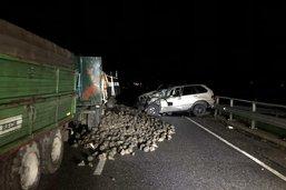 Un tracteur entre en collision avec une voiture à Chiètres