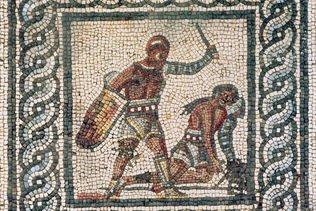 """La """"véritable histoire"""" des gladiateurs au musée antique de Bâle"""