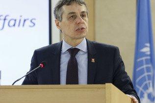 Cassis est convaincu que la Suisse siégera au Conseil de sécurité