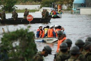 Typhon Hagibis: au moins 35 morts au Japon, 110'000 secouristes