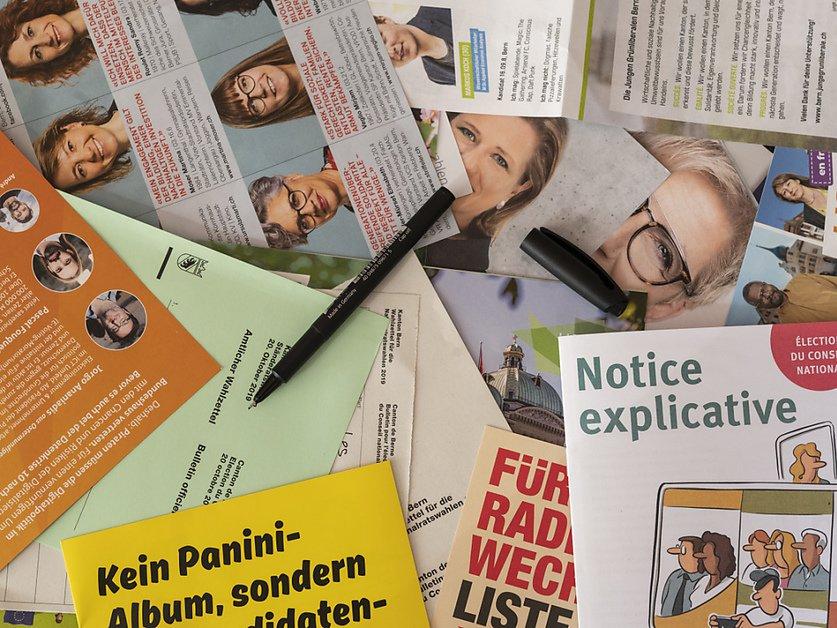 Les Suisses désignent leur nouveau Parlement