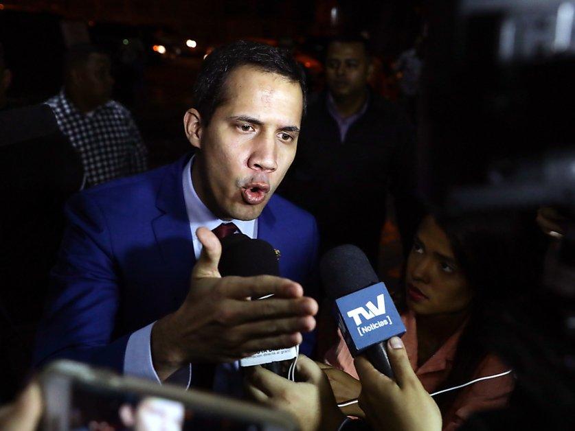 Dans la foulée de la Bolivie, Guaido espère mobiliser à nouveau