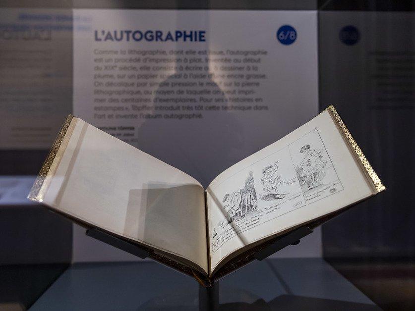 La Bibliothèque de Genève remonte aux sources de la BD avec Töpffer