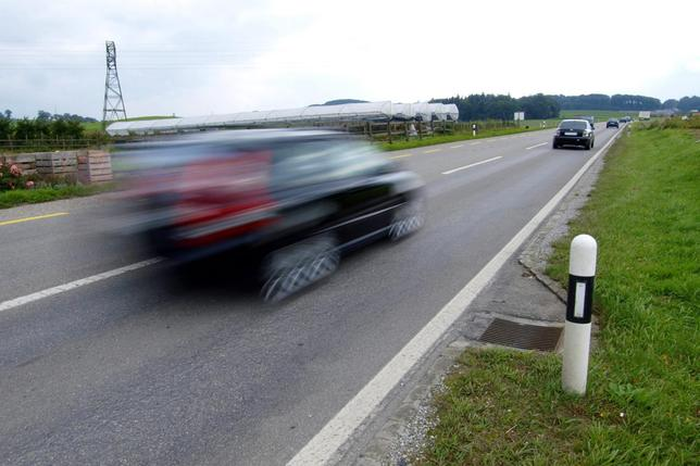 Flashé à 143 km/h à Wallenried, il perd son permis