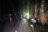 Un élève conducteur alcoolisé sort de la route