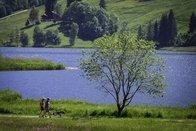 En continu - Le lac Noir à sens unique