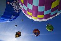 Forte affluence pour le festival de ballons à Château d'Oex