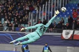 Yvon Mvogo a joué ses premières minutes en Ligue des champions