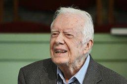 L'ex-président américain Jimmy Carter de nouveau hospitalisé