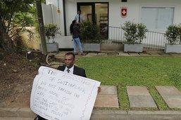 L'employée locale de l'ambassade suisse à Colombo ne peut voyager
