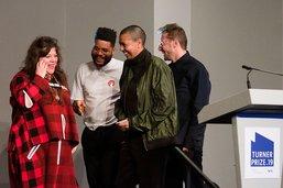 Fait sans précédent, le Prix Turner décerné aux quatre nominés