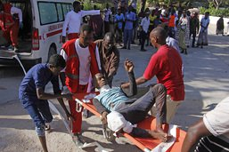 Forte explosion à Mogadiscio: plus de 20 morts