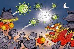 Un mystérieux virus s'invite au Nouvel An chinois