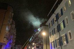 Deux immeubles évacués à Clarens