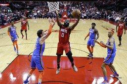 Une quatrième défaite de rang pour les Rockets