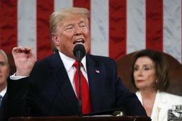 """Trump vante au Congrès ses promesses """"tenues"""""""
