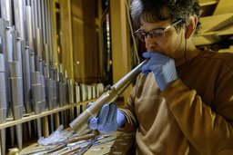 Un spécialiste pour les orgues de Romont