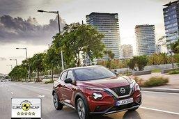 Cinq étoiles pour le nouveau Nissan Juke