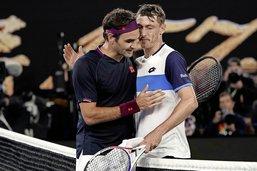 Roger Federer miraculé à Melbourne