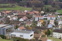 Courgevaux investit dans l'eau et son centre village