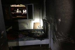 Incendie dans un appartement à Givisiez