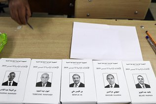 Abstention record à la présidentielle contestée en Algérie