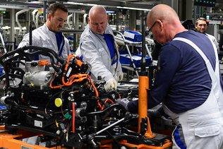 Allemagne: 1er recul de la main-d'oeuvre industrielle depuis 2010
