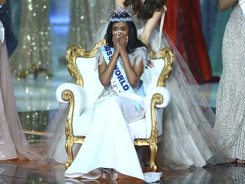 Une Jamaïcaine couronnée Miss Monde 2019