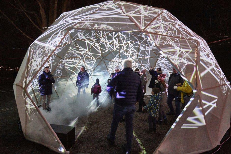 Le Festival des lumières de Morat