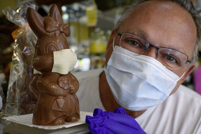 Le virus atteint les lapins de Pâques