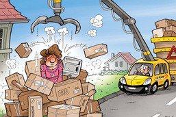 Le boom des livraisons à domicile