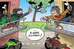T'es un vrai motard si...