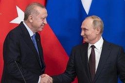 """Calme """"relatif"""" à Idleb après l'accord Poutine-Erdogan"""