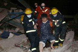 Un hôtel lieu de quarantaine s'effondre, au moins dix morts