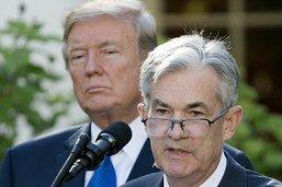 """Le patron de la Fed a fait un """"très bon travail"""", affirme Trump"""
