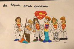 Les dessins des super héros