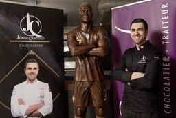 Un Cristiano Ronaldo chocolaté