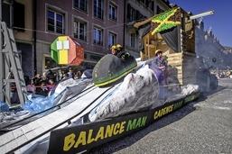 Carnaval vraiment tropical à Romont