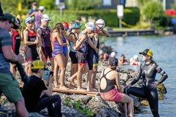 Avant l'Ironman, slaloms et estafettes